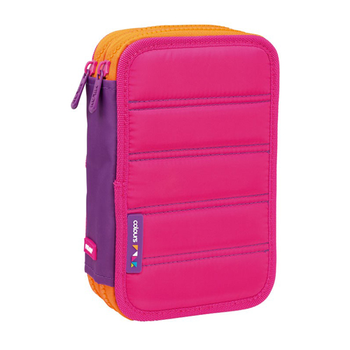 MILAN - Peračník Colours Pink plný - 2 poschodový, ružový