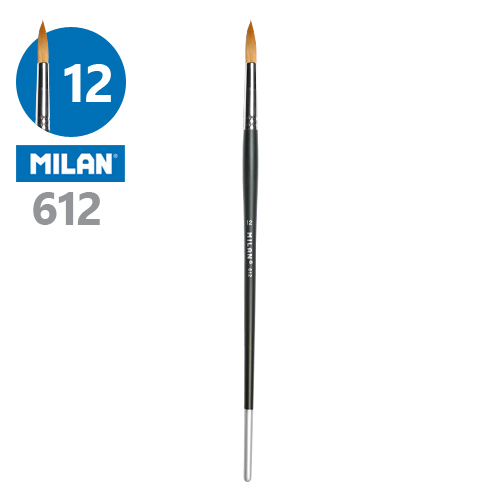 MILAN - Štetec guľatý č. 12 - 612