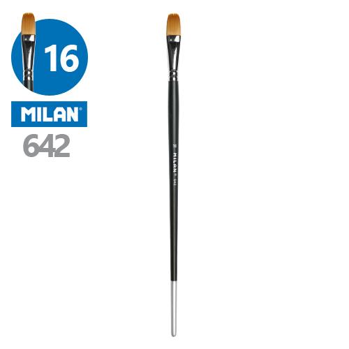 MILAN - Štetec plochý č. 16 - 642