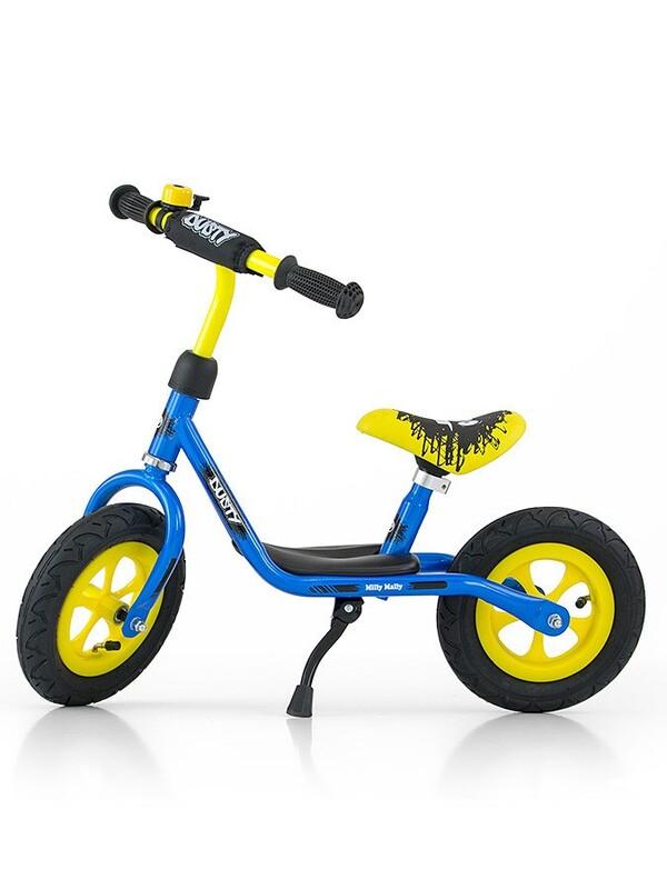 MILLY MALLY - Detské odrážadlo bicykel Dusty blue 12