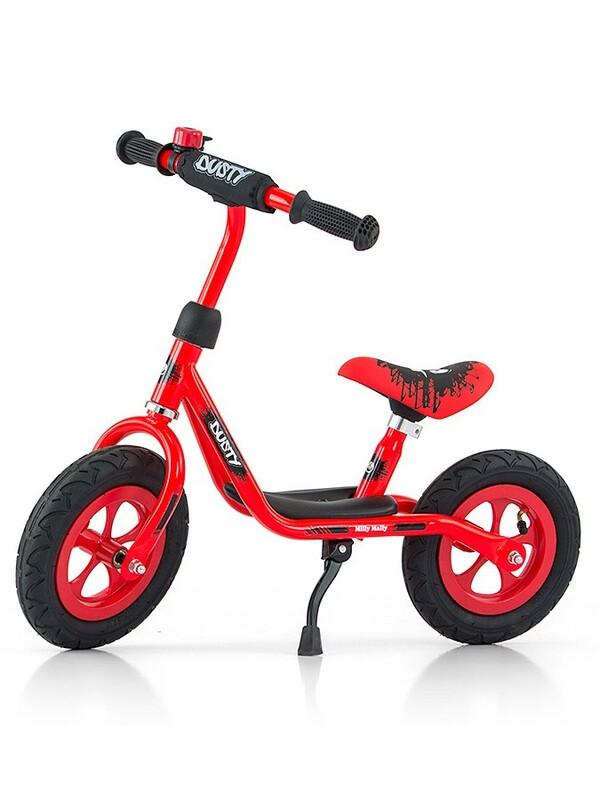 MILLY MALLY - Detské odrážadlo bicykel Dusty red 12