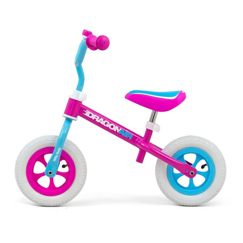 MILLY MALLY - Detské odrážadlo kolo Dragon Air candy