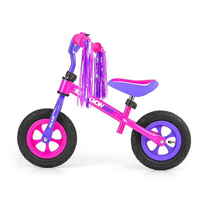 MILLY MALLY - Detské odrážadlo kolo Dragon Air pink