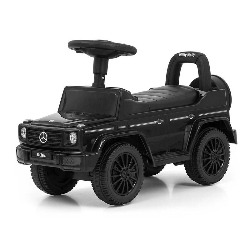 MILLY MALLY - Detské odrážadlo MERCEDES G350d čierne