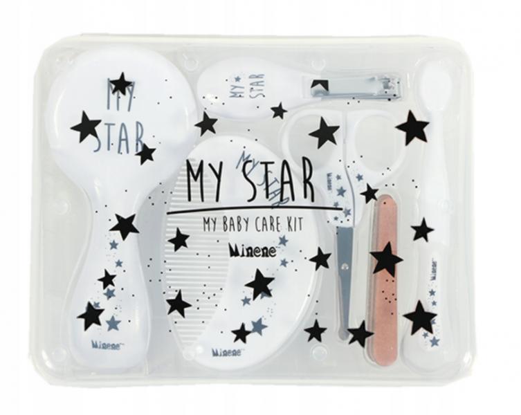 MINENE - Veľká sada starostlivosti o dieťa 6v1 My Star, biela