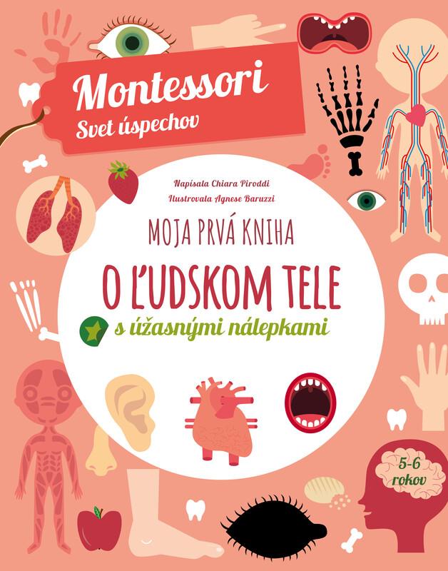 Moja prvá kniha o ľudskom tele (Montessori: Svet úspechov) - Chiara Piroddi