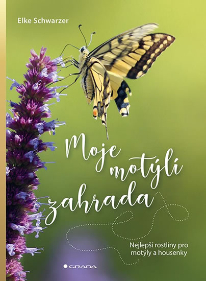 Moje motýlí zahrada - Nejlepší rostliny - Elke Schwarzer