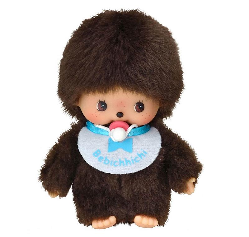 MONCHHICHI - Bebiči chlapec s cumlíkom 15cm
