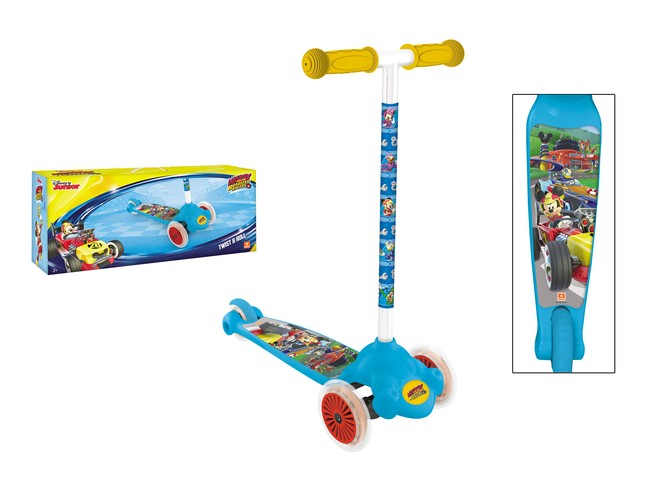 MONDO - kolobežka Twist & Roll Mickie Mouse 18/796