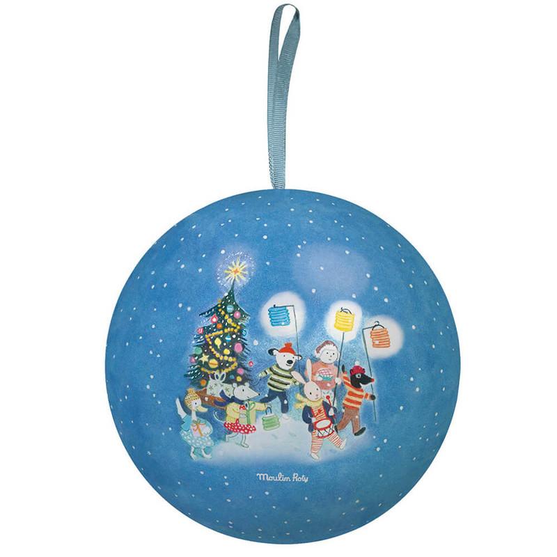 MOULIN ROTY - Vianočná ozdoba modrá