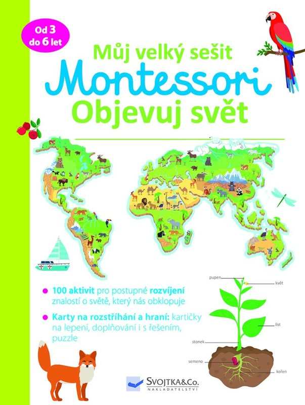 Můj velký sešit Montessori - Objevuj svět