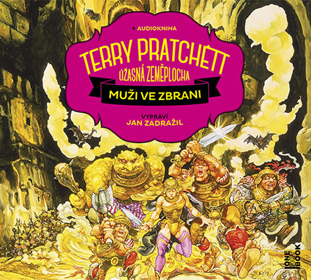 Muži ve zbrani - 2 CDmp3 (Čte Jan Zadraž - Terry Pratchett