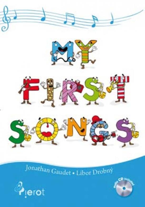 My first songs s CD - Jonathan Gaudet