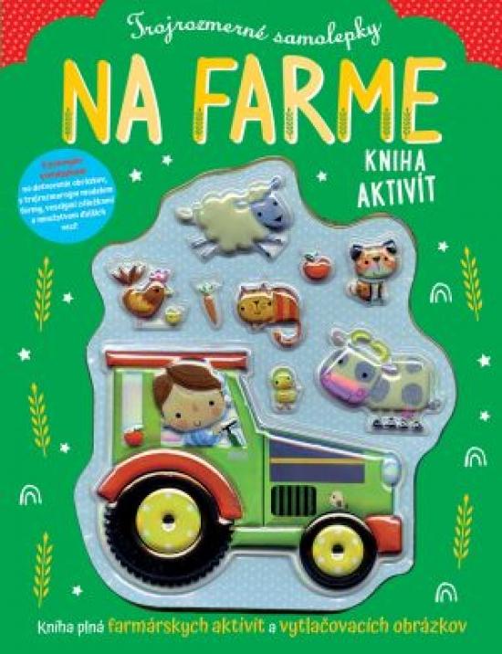 Na farme - Trojrozmerné samolepky - Stuart Lynch