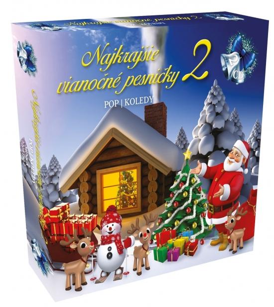 Najkrajšie vianočné pesničky 2 2CD box / Pop koledy - Kolektív autorov