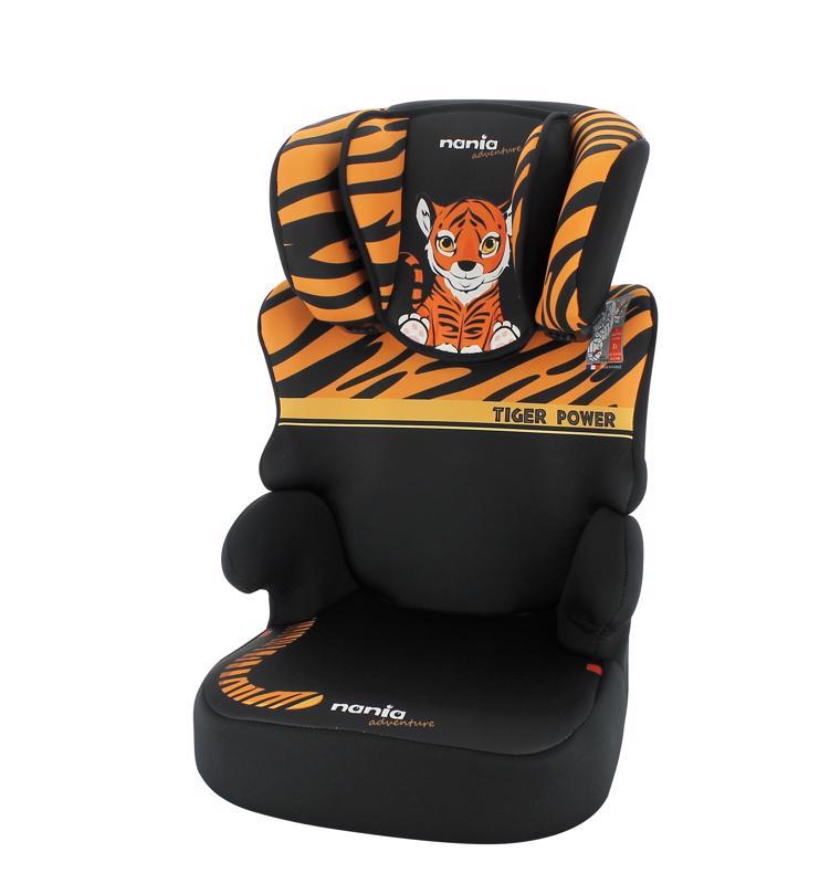 NANIA - Autosedačka Befix Adventure Tiger 15-36kg