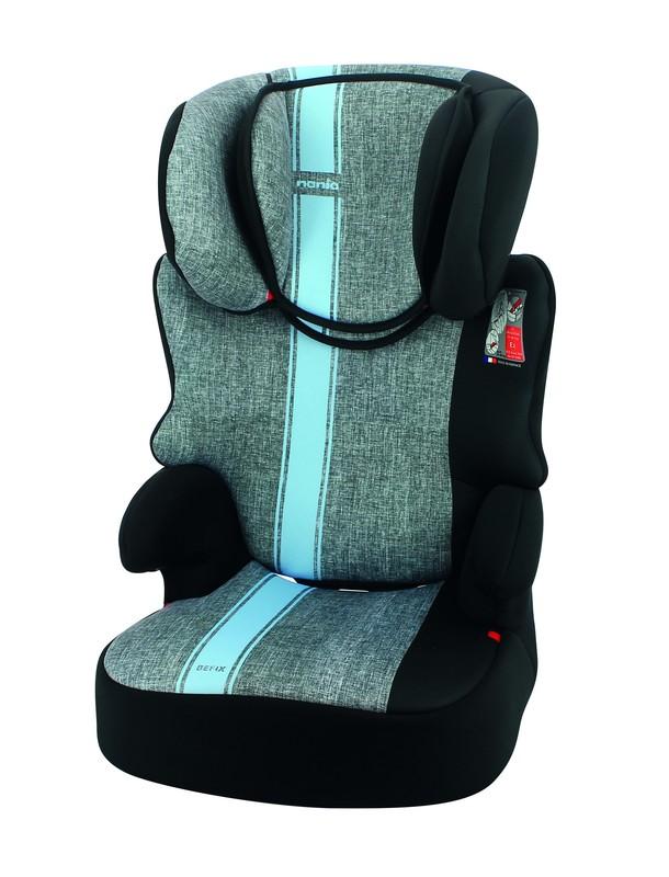 NANIA - Autosedačka Befix First Linea Grey Blue 15-36kg