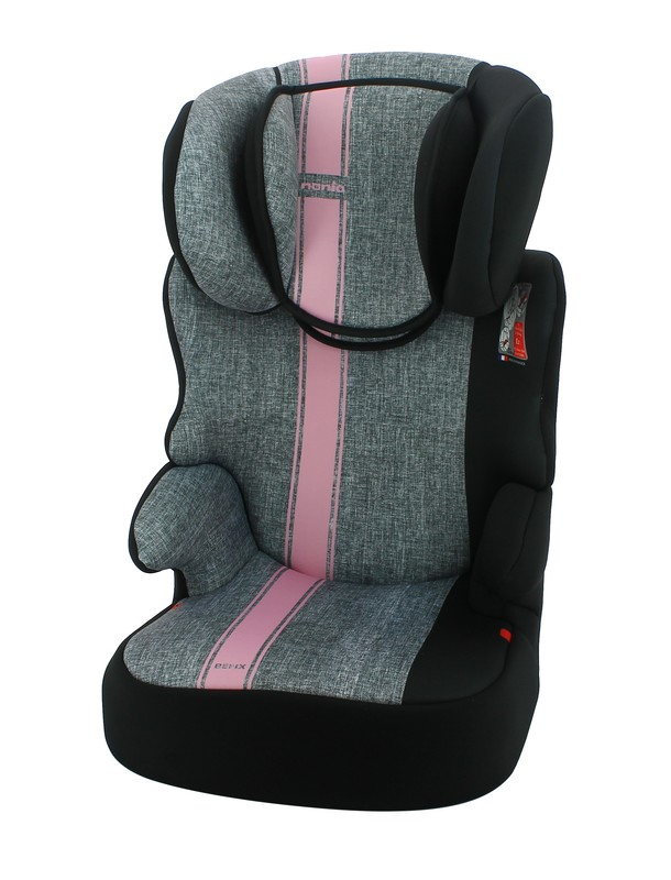 NANIA - Autosedačka Befix First Linea Grey Pink 15-36kg