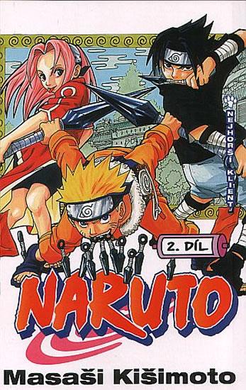 Naruto 2 - Nejhorší klient - 2.vydání - Masaši Kišimoto