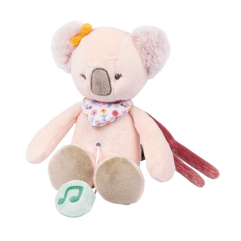 NATTOU - Hračka plyšová hudobná koala Iris IL 28 cm