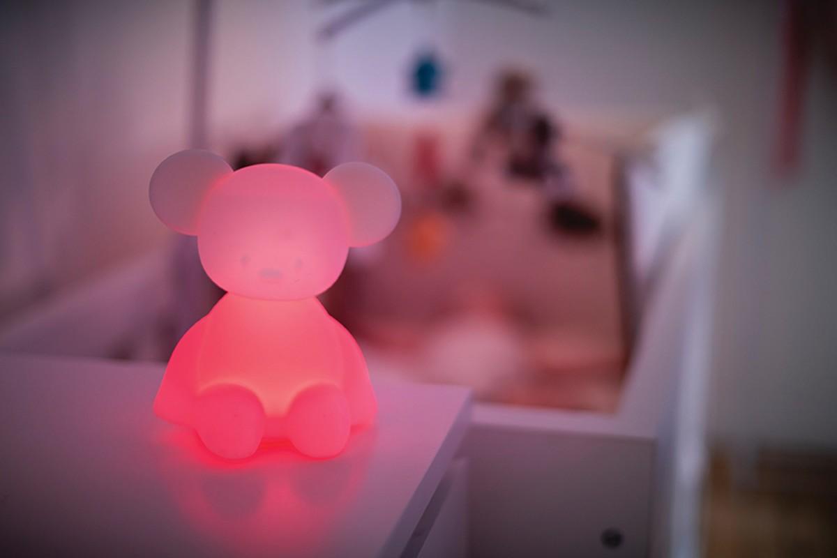 NATTOU - Svetielko nočné so senzorom plaču Lapidou myška