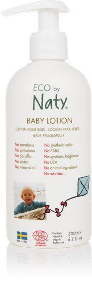 NATY NATURE BABYCARE - Mlieko detské telové 200ml Naty Nature Babycare