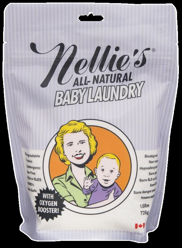 NELLIE'S ALL NATURAL - Detský prášok na pranie