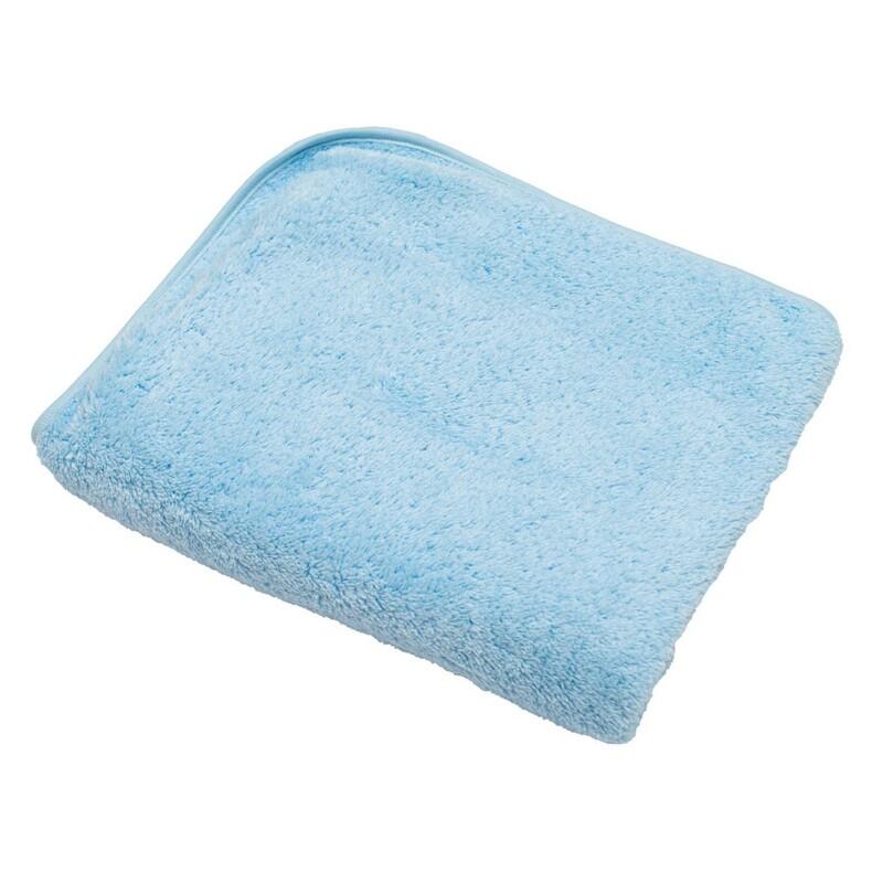 NEW BABY - Detská deka 90x80 modrá