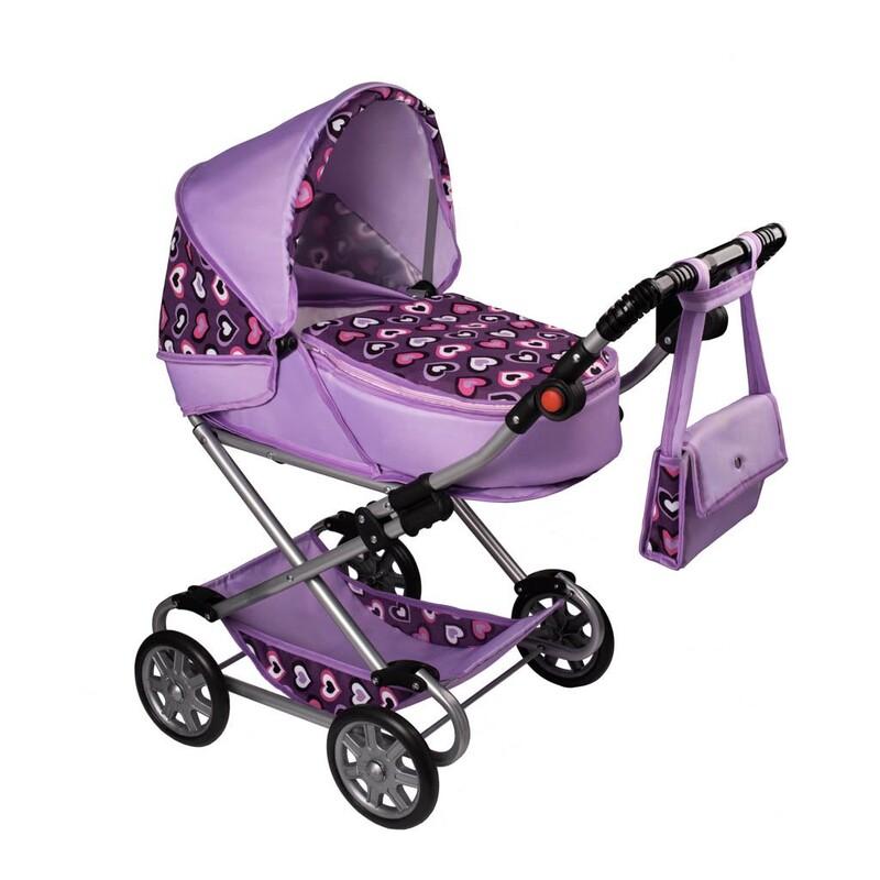 NEW BABY - Detský kočík pre bábiky 2v1 Andrea