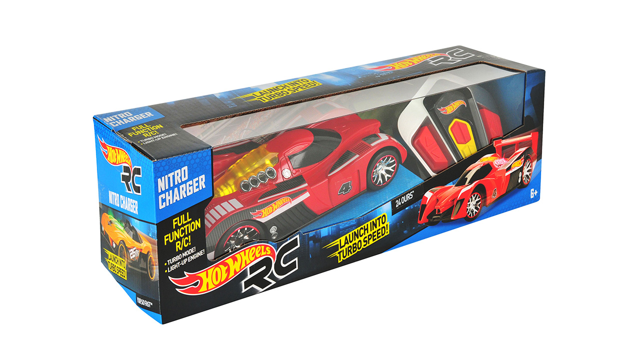 NIKKO - Hot Wheels Lights And Sounds Nitro Charger R / C
