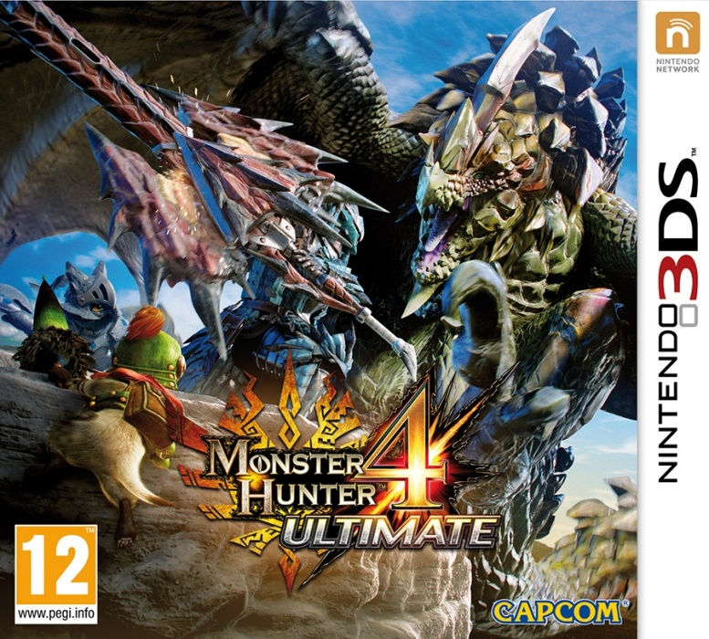 NINTENDO - 3DS Monster Hunter 4 Ultimate