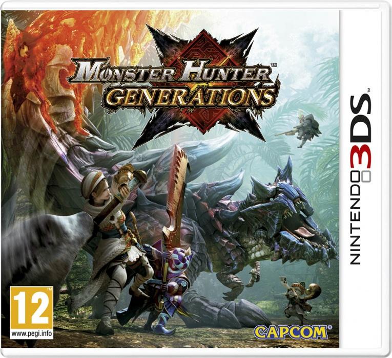 NINTENDO - 3DS Monster Hunter Generations