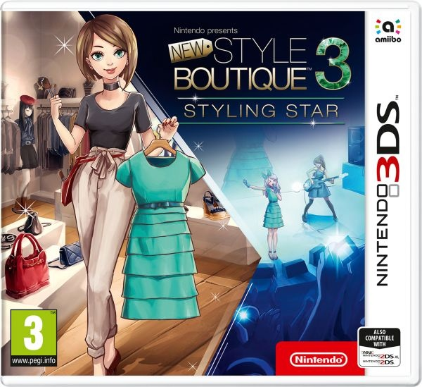 NINTENDO - 3DS New Style Boutique 3 - Styling Star, hra pre konzolu Nintendo 3DS