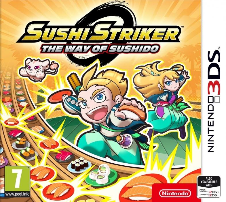 NINTENDO - 3DS Sushi Striker: The Way of Sushido