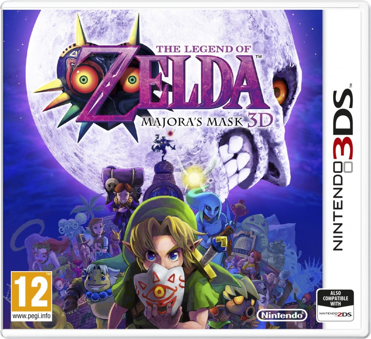 NINTENDO - 3DS The Legend of Zelda: Majora 's Mask