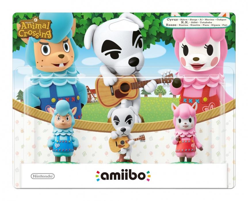 NINTENDO - amiibo Animal Crossing 3-Pack: Reese / K.K. / Cyrus