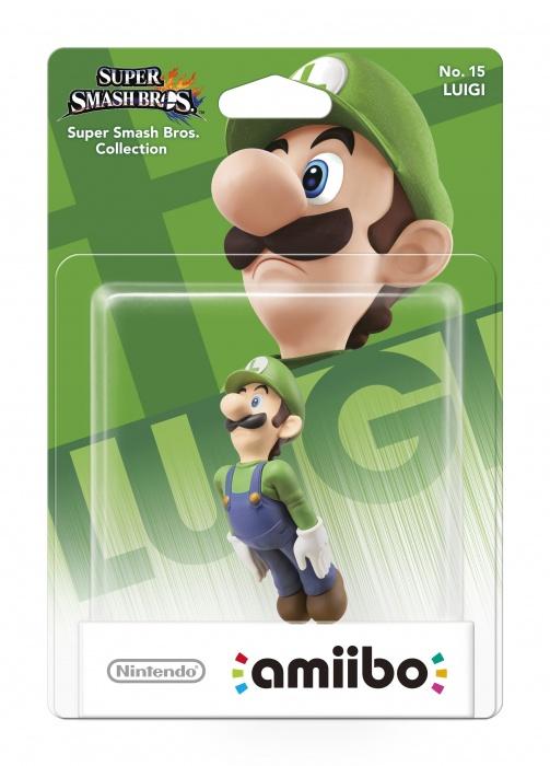 NINTENDO - amiibo Smash Luigi 15, figúrka amiibo zo série Super Smash Bros. - Luigi