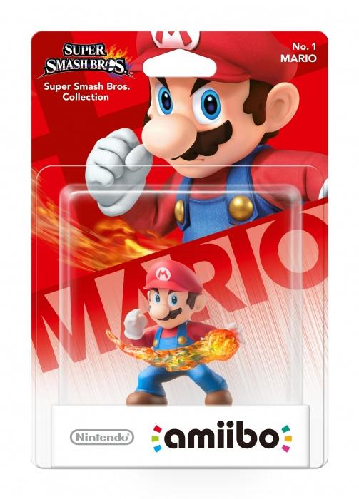 NINTENDO - amiibo Smash Mario 1, figúrka amiibo zo série Super Smash Bros. - Mario