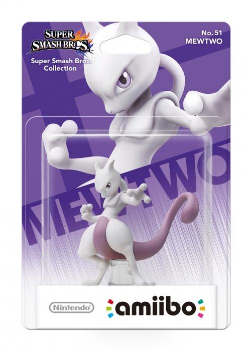 NINTENDO - amiibo Smash Mewtwo 51, figúrka amiibo zo série Super Smash Bros. - Mewtwo