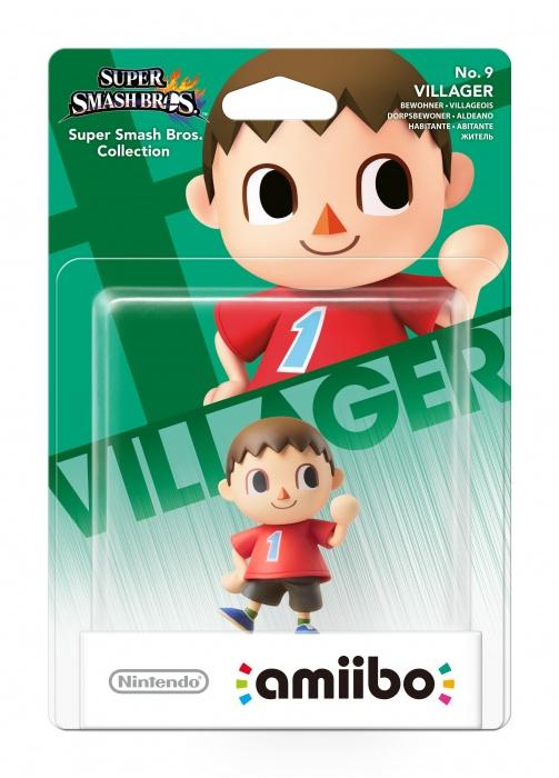 NINTENDO - amiibo Smash Villager 9, figúrka amiibo zo série Super Smash Bros. - Villager