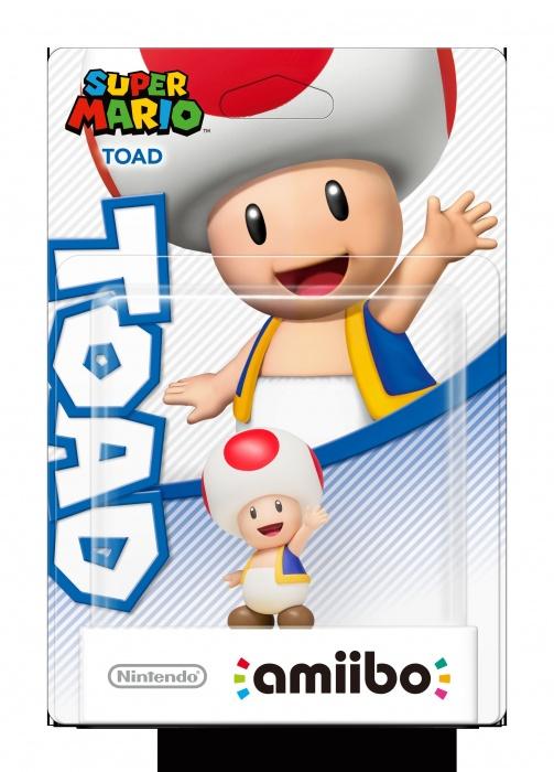 NINTENDO - amiibo Super Mario - Toad, figúrka amiibo zo série Super Mario - Toad