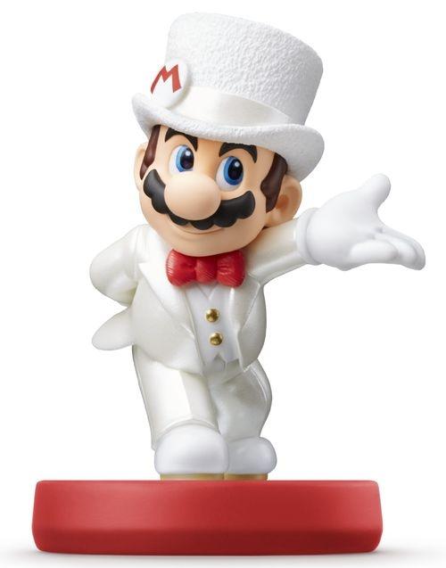 NINTENDO - amiibo Super Mario - Wedding Mario, amiibo figúrka zo série Super Mario