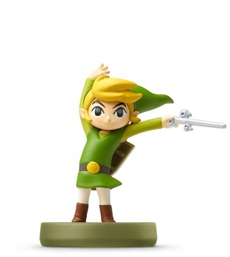 NINTENDO - amiibo Zelda - Toon Link (The Wind Waker), figúrka amiibo zo série The Legend od Zelda