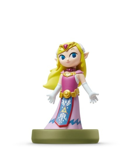 NINTENDO - amiibo Zelda - Zelda (The Wind Waker), figúrka amiibo zo série The Legend od Zelda