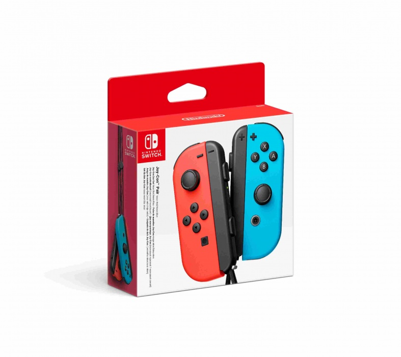 NINTENDO - Joy-Con Pair Neon Red / Neon Blue