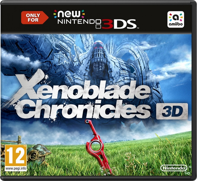 NINTENDO - New 3DS Xenoblade Chronicles 3D