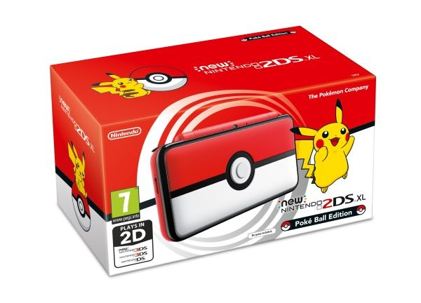 NINTENDO - New Nintendo 2DS XL Pokéball Edition