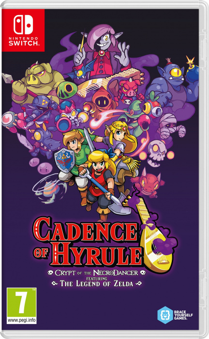 NINTENDO - SWITCH Cadence of Hyrule: Crypt of the NecroDancer
