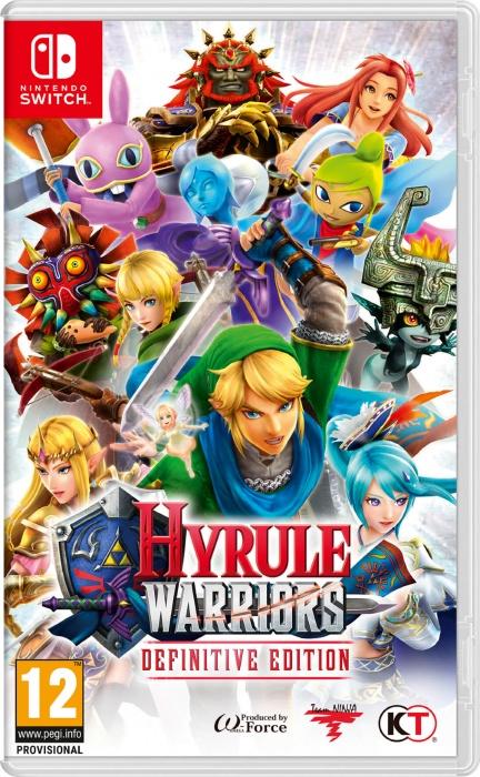 NINTENDO - SWITCH Hyrule Warriors Definitive Edition