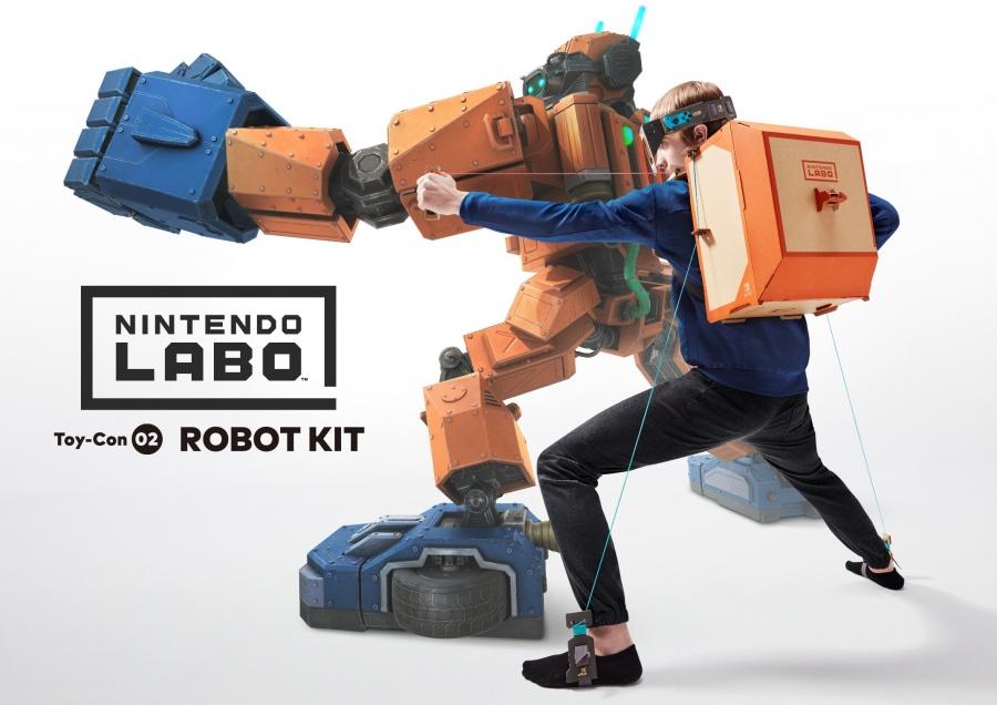 NINTENDO - SWITCH Nintendo Labo Robot Kit, interaktivná stavebnica pre Nintendo Switch
